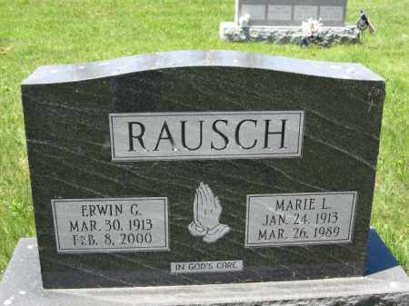 RAUSCH, MARIE L. - Union County, Ohio | MARIE L. RAUSCH - Ohio Gravestone Photos