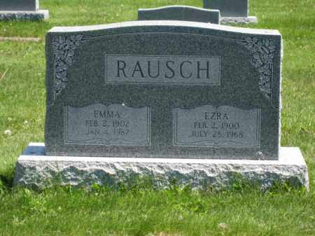 RAUSCH, EZRA - Union County, Ohio | EZRA RAUSCH - Ohio Gravestone Photos