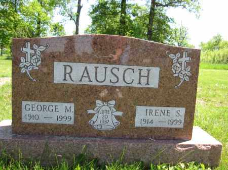 RAUSCH, GEORGE M. - Union County, Ohio | GEORGE M. RAUSCH - Ohio Gravestone Photos