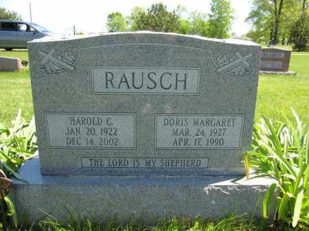 RAUSCH, DORIS MARGARET - Union County, Ohio | DORIS MARGARET RAUSCH - Ohio Gravestone Photos