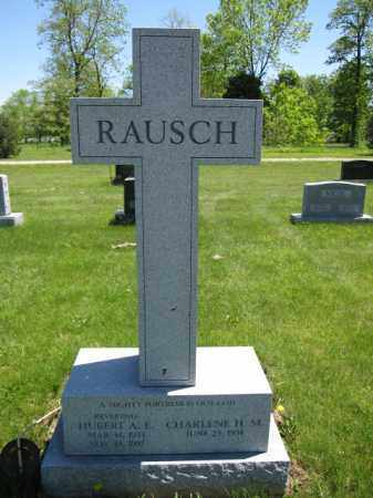 RAUSCH, HUBERT A.E. - Union County, Ohio | HUBERT A.E. RAUSCH - Ohio Gravestone Photos