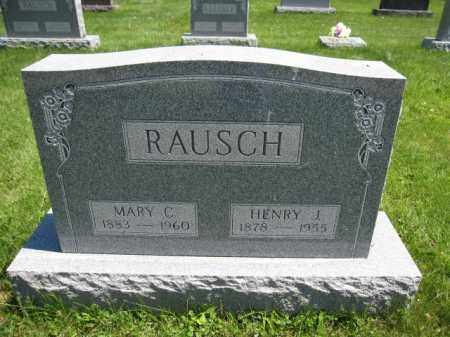 RAUSCH, MARY C. - Union County, Ohio | MARY C. RAUSCH - Ohio Gravestone Photos