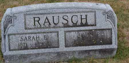 RAUSCH, JOHN P. - Union County, Ohio | JOHN P. RAUSCH - Ohio Gravestone Photos