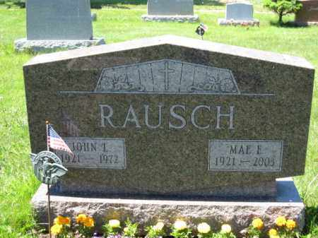RAUSCH, JOHN L. - Union County, Ohio | JOHN L. RAUSCH - Ohio Gravestone Photos
