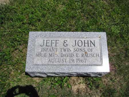 RAUSCH, JOHN - Union County, Ohio | JOHN RAUSCH - Ohio Gravestone Photos