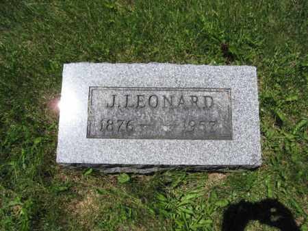 RAUSCH, J. LEONARD - Union County, Ohio | J. LEONARD RAUSCH - Ohio Gravestone Photos