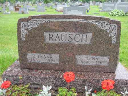 RAUSCH, LENA - Union County, Ohio | LENA RAUSCH - Ohio Gravestone Photos