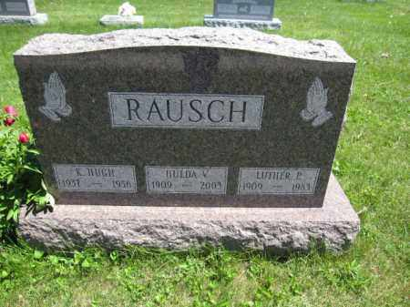 RAUSCH, K. HUGH - Union County, Ohio | K. HUGH RAUSCH - Ohio Gravestone Photos
