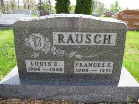 RAUSCH, LOUIS E. - Union County, Ohio | LOUIS E. RAUSCH - Ohio Gravestone Photos
