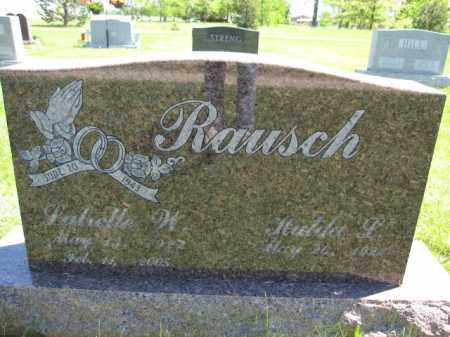 RAUSCH, LUTRELLE W. - Union County, Ohio | LUTRELLE W. RAUSCH - Ohio Gravestone Photos