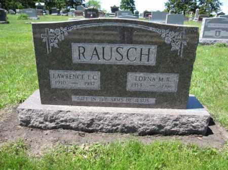 RAUSCH, LORNA M.R. - Union County, Ohio | LORNA M.R. RAUSCH - Ohio Gravestone Photos