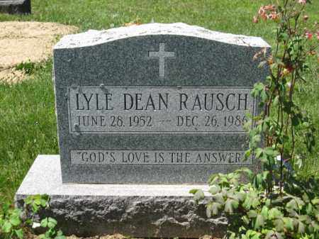 RAUSCH, LYLE DEAN - Union County, Ohio | LYLE DEAN RAUSCH - Ohio Gravestone Photos