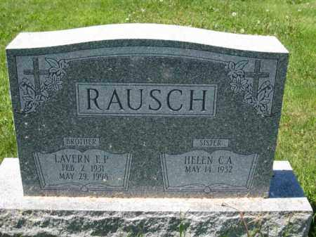 RAUSCH, LAVERN E.P. - Union County, Ohio | LAVERN E.P. RAUSCH - Ohio Gravestone Photos