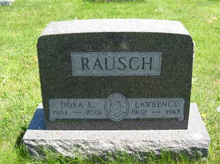 RAUSCH, LAWRENCE - Union County, Ohio | LAWRENCE RAUSCH - Ohio Gravestone Photos