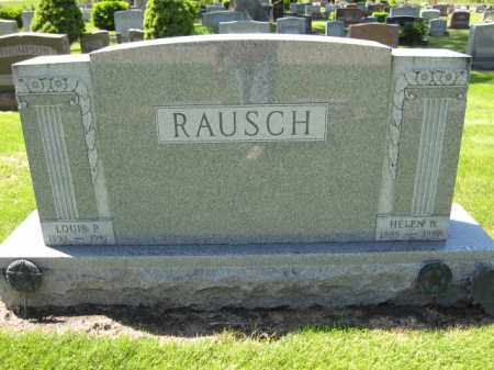 RAUSCH, LOUIS P. - Union County, Ohio | LOUIS P. RAUSCH - Ohio Gravestone Photos