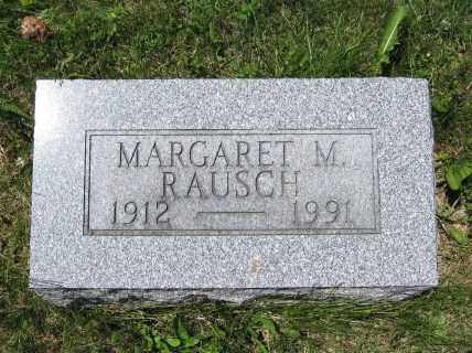 RAUSCH, MARGARET M. - Union County, Ohio | MARGARET M. RAUSCH - Ohio Gravestone Photos