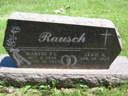 RAUSCH, JEAN A. - Union County, Ohio | JEAN A. RAUSCH - Ohio Gravestone Photos