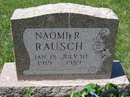 RAUSCH, NAOMI R. - Union County, Ohio | NAOMI R. RAUSCH - Ohio Gravestone Photos