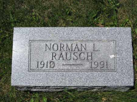 RAUSCH, NORMAN L. - Union County, Ohio | NORMAN L. RAUSCH - Ohio Gravestone Photos