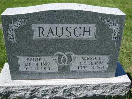 RAUSCH, PHILIP J. - Union County, Ohio | PHILIP J. RAUSCH - Ohio Gravestone Photos