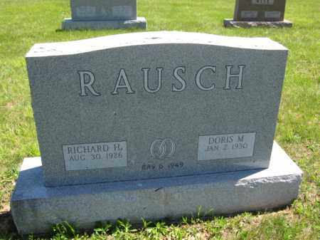 RAUSCH, RICHARD H. - Union County, Ohio | RICHARD H. RAUSCH - Ohio Gravestone Photos