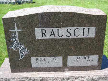 RAUSCH, ROBERT G. - Union County, Ohio | ROBERT G. RAUSCH - Ohio Gravestone Photos