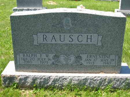 RAUSCH, RALPH F.W. - Union County, Ohio | RALPH F.W. RAUSCH - Ohio Gravestone Photos