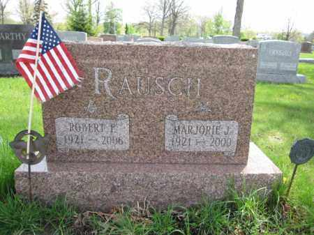 RAUSCH, MARJORIE J. - Union County, Ohio | MARJORIE J. RAUSCH - Ohio Gravestone Photos