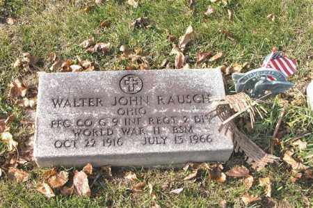 RAUSCH, WALTER JOHN - Union County, Ohio | WALTER JOHN RAUSCH - Ohio Gravestone Photos