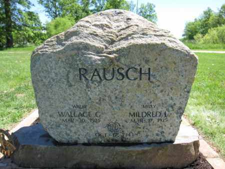 RAUSCH, MILDRED A. - Union County, Ohio | MILDRED A. RAUSCH - Ohio Gravestone Photos