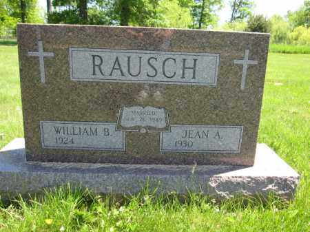RAUSCH, WILLIAM B. - Union County, Ohio | WILLIAM B. RAUSCH - Ohio Gravestone Photos