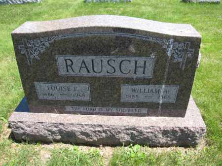 RAUSCH, LOUISE E. - Union County, Ohio | LOUISE E. RAUSCH - Ohio Gravestone Photos
