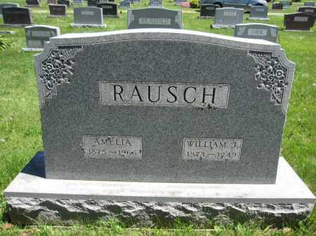 RAUSCH, WILLIAM J. - Union County, Ohio | WILLIAM J. RAUSCH - Ohio Gravestone Photos