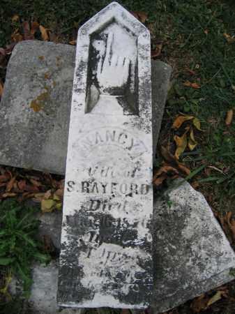 RAYFORD, NANCY - Union County, Ohio | NANCY RAYFORD - Ohio Gravestone Photos