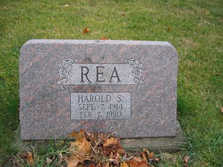 REA, HAROLD S. - Union County, Ohio | HAROLD S. REA - Ohio Gravestone Photos