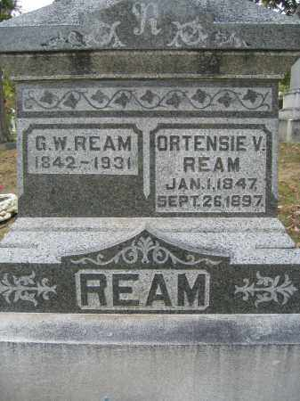 REAM, G.W. - Union County, Ohio | G.W. REAM - Ohio Gravestone Photos