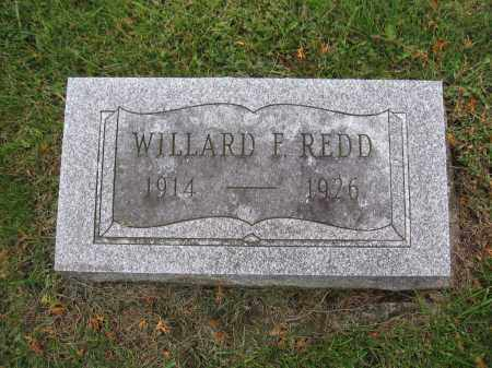 REDD, WILARD F. - Union County, Ohio | WILARD F. REDD - Ohio Gravestone Photos