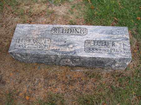REDDING, EDWARD L. - Union County, Ohio | EDWARD L. REDDING - Ohio Gravestone Photos