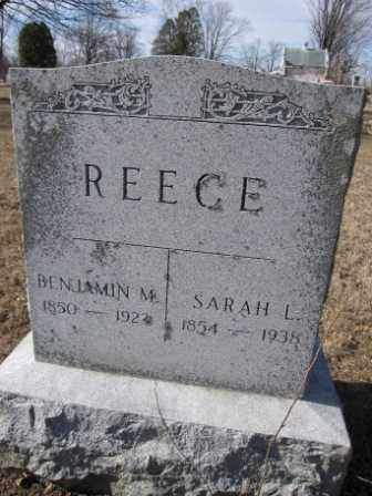 REECE, SARAH L. - Union County, Ohio | SARAH L. REECE - Ohio Gravestone Photos