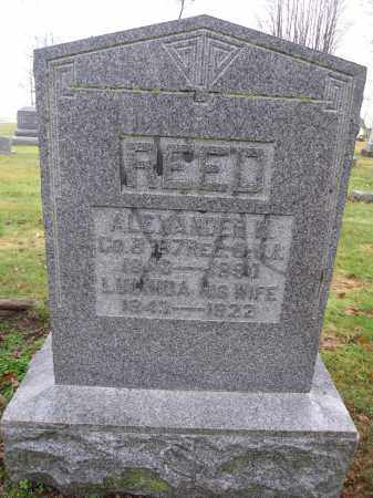 REED, LUCINDA GRINDELL - Union County, Ohio | LUCINDA GRINDELL REED - Ohio Gravestone Photos