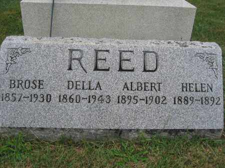 REED, DELLA - Union County, Ohio | DELLA REED - Ohio Gravestone Photos