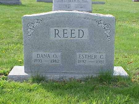 REED, ESTHER C. - Union County, Ohio | ESTHER C. REED - Ohio Gravestone Photos
