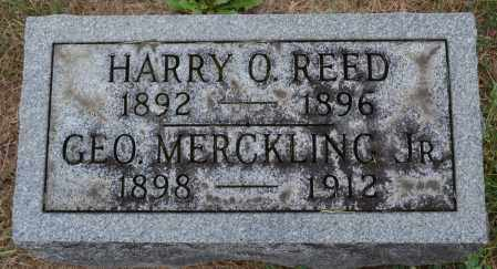 REED, HARRY O. - Union County, Ohio | HARRY O. REED - Ohio Gravestone Photos