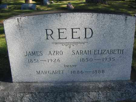 REED, JAMES AZRO - Union County, Ohio | JAMES AZRO REED - Ohio Gravestone Photos