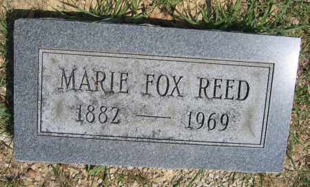 REED, MARIE FOX - Union County, Ohio | MARIE FOX REED - Ohio Gravestone Photos