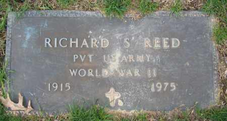 REED, RICHARD S. - Union County, Ohio | RICHARD S. REED - Ohio Gravestone Photos