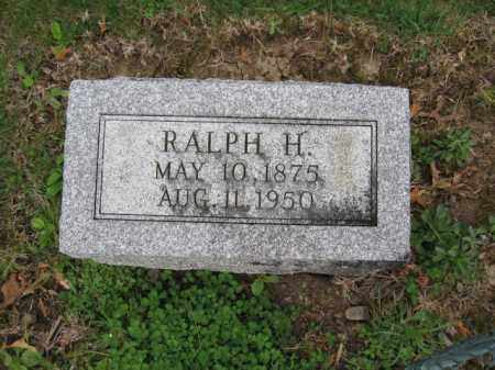 REED, RALPH HARTLEY - Union County, Ohio | RALPH HARTLEY REED - Ohio Gravestone Photos