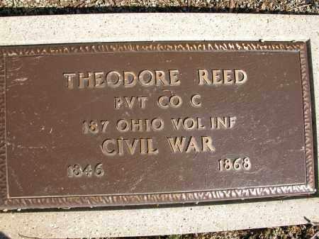 REED, THEODORE - Union County, Ohio | THEODORE REED - Ohio Gravestone Photos