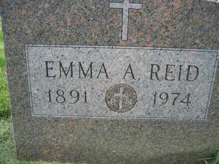 REID, EMMA A. - Union County, Ohio | EMMA A. REID - Ohio Gravestone Photos