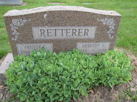 RETTERER, ARTHUR C. - Union County, Ohio | ARTHUR C. RETTERER - Ohio Gravestone Photos